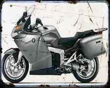 Bmw K 1200Gt 08 A4 Metal Sign Motorbike Vintage Aged