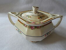 W.H. Grindley Sheraton Ivory Sugar Bowl with Lid #071528