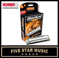 HOHNER ROCKET HARMONICA 'C' Key - NEW IN BOX 2013C Harp