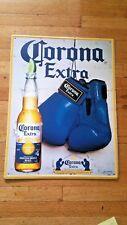 corona boxing and corona baseball sign 2 pack.free shipping