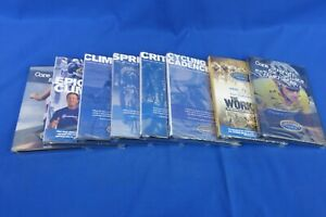 NEW *8 Pack* - CTS Chris Carmichael Training Systems DVD's - Indoor Cycling
