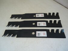 "3 Mulching Blades John Deere 48"" GX21784 GY20852 LA145 LA140 LA165 D140 USA MADE"