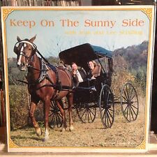 [ROCK/POP]~EXC LP~JEAN And LEE SCHILLING~Keep On The Sunny Side~[1982~TRADITIONA