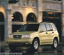 1999 SUZUKI Brochure/Catalog w/Color Chart: GRAND VITARA, SWIFT, ESTEEM,