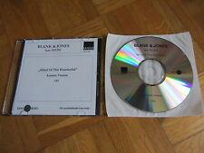 BLANK & JONES Mind Of The Wonderful - Acoustic Version GERMANY promo CD single