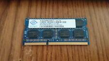 AS IS Nanya 4GB 2RX8 PC3-12800S DDR3 1600mhz SODIMM RAM Laptop Memory