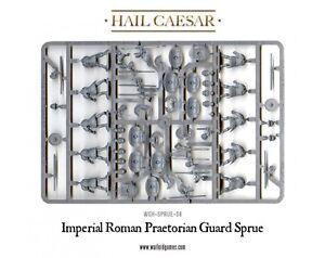 WARLORD GAMES Grappe Garde prétorienne empire romain Figurines 28mm plastique
