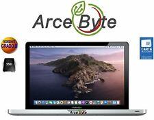 """APPLE MACBOOK PRO 13"""" INTEL CORE i5 2.5GHZ 2012 FATTURA SSD 256GB 8GB CATALINA"""