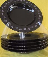 Mikasa Nightshade RIM SOUP BOWL 1 of 8 available have more items to this set