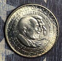1952 WASHINGTON CARVER SILVER HALF DOLLAR UNCIRCULATED COMMEMORATIVE COIN