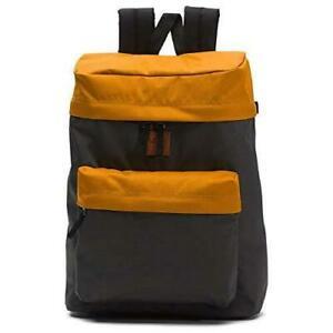 NWT Vans METRO BACKPACK School Book Bag ASPHALT SUDAN BROWN Travel Gym Weekends