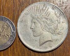 GROSSE PIECE DE 1 DOLLAR 1922 REPRODUCTION PAS EN ARGENT (656) FAUSSE