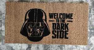 Star Wars Tappetino Tappeto ingresso Zerbino in cocco Dart Vader