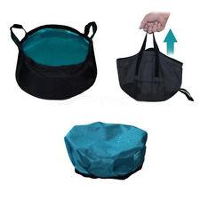 1PC 8.5L Portable Folding Washbasin Bucket Wash Basin Foldable Camping Water Pot