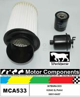 FILTER SERVICE KIT for Honda INTEGRA DC5 K20A3 2L Petrol 08/01>04/07