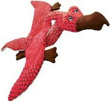 KONG Dynos Pterodactyl Coral Large Dog Toy Soft/plush