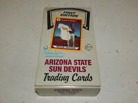 1990 Collegiate Collection Arizona State Sun Devils Cards Wax Box 36 Packs