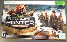 XBOX 360 Cabela's: Big Game Hunter Pro Hunts Bundle with Gun BRAND NEW SEALED