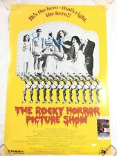 Barry Bostwick Signed Rocky Horror Picture Show Full Size Poster JSA COA