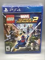LEGO Marvel Super Heroes 2 (Sony PlayStation 4, 2017) NEW & SEALED