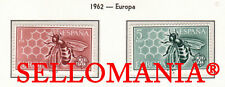1962 EUROPA CEPT EUROPE ABEJA BEE HONEY MIEL ABEILLE 1448 / 49 MNH ** TC23374 FR