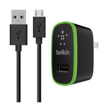 Belkin  Black  Android  Wall Charger  4 ft. L