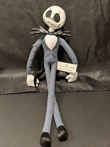 "Disney Nightmare Before Christmas Jack Skellington 12"" Plush Doll"