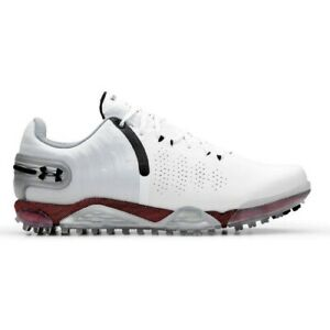 NEW 2021 Under Armour Mens HOVR Spieth 5 SL Spikeless Golf Shoes White -Pick