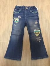 Gap NWT 3T Cute boot Jeans winter Snowflakes Fair isle pint hearts