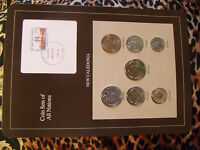 Coin Sets of All Nations New Caledonia w/Card 1983-1987 UNC 100 Francs 1984