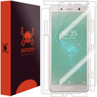 Skinomi TechSkin Full Body & Screen Protector for Sony Xperia XZ2 Compact