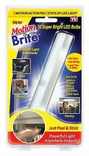 Motion Brite -Motion Activated Stick Up LED Light - As Seen On TV