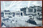 RARE! VTG London England In Wartime WWII Hyde Park Corner Postcard Searchlights