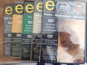 E=M6 - L'ESSENTIEL DE LA SCIENCE - LOT DE 8 DVD/DVD ROM -NEUF -VERSION FRANÇAISE