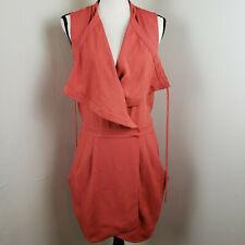Diane von Furstenberd Flyma Draped Satin Twill Wrap Dress Size 2