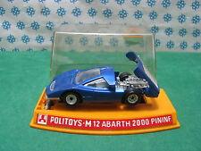 POLITOYS-M 12 - Abarth 2000 Pininfarina - 1/43 New/mint