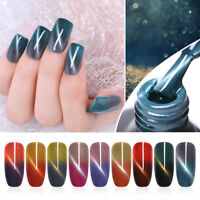UR SUGAR 7.5ml Thermal Color Changing Nail Gel Polish Cat Eye Soak Off UV Gel