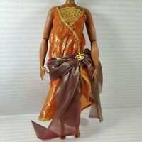 EVENING W~ DRESS ~BARBIE DOLL COLLECTOR CURVY MADAME LAVINIA HARLEM THEATRE GOWN