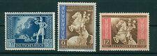 Deutsches Reich 820 - 822 , ** , * , o , Postkongress 1942