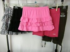 GUC EUC Girls 5 Pc M 8 Summer LOT GAP Reebok Fabkids Shorts Scooter Tutu Skirts
