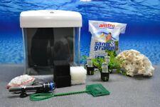 """Nano Aquarium XCUBE in weiß """"inklusive Dekoration"""" +LED Beleuchtung +Mondlicht"""