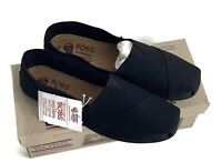 New! With Box Bobs Sketchers Wedge Slip-Ons Black With Memory Foam Size 8