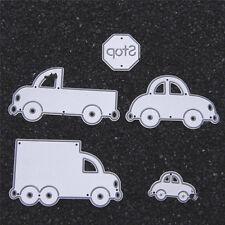 Metal Cars Cutting Dies Stencil DIY Scrapbooking Album Card Embossing Craft