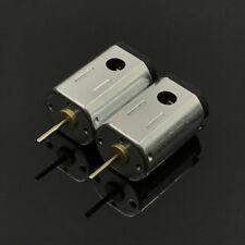 2PCS DC 3.7V 4.2V 6V 7.4V 43700RPM High Speed Mini FK-N21 Motor DIY RC Slot Car