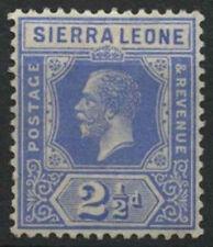 Mint Hinged Postage Sierra Leonean Stamps (1808-1961)