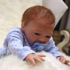 "CHEAP 18""Handmade Reborn Baby Girl Doll Newborn Lifelike Soft Vinyl Silicone TOY"