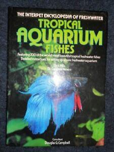 TROPICAL AQUARIUM FISH ENCYCLOPEDIA Hardback Book The Cheap Fast Free Post