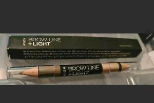 AVON Brow Line & Light duo  pencil - 2 in 1 Pencil  Brunette free p&p