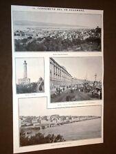 Terremoto in Calabria e Sicilia 28 dicembre 1909 Messina e Reggio Calabria prima