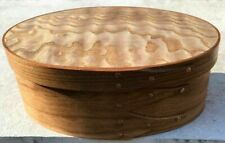 CHERRY AND TAMO ASH SHAKER OVAL BOX---- SIZE # 2